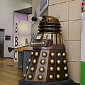 Dalek At The Bbc 2 by John Chatterley