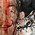 Dali And His Cat by Paul Lovering