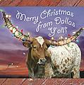 Dallas Christmas Card by Robert Anschutz