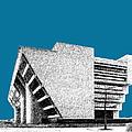 Dallas Skyline City Hall - Steel by DB Artist