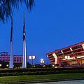 Dallas City Hall - Twilight by Robert J Sadler