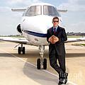 Dallas Cowboys Superbowl Quarterback Troy Aikman by David Perry Lawrence