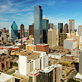 Dallas Skyline As Seen From Reunion by Panoramic Images