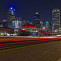 Dallas Skyline At Night by Jonathan Davison