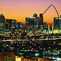 Dallas Texas Skyline In A High Heel Pump by Marvin Blaine