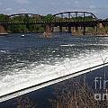 Dam And Rail Runs by GJ Glorijean