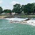 Dam At Batesville Arkansas by Douglas Barnett
