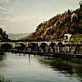 Dam On Adda River by Roberto Pagani