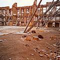 Damaged Building by Jess Kraft