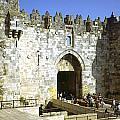 Damascus Gate Jerusalem by Daniel Blatt