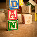 Dan - Alphabet Blocks by Edward Fielding