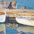 Dana Point Harbor Boats by Sharon Weaver