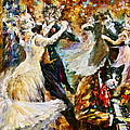 Dance Ball Of Cats  by Leonid Afremov