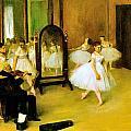 Dance Class 2 by Edgar Degas