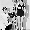 Dance Director Selecting Girls by Underwood Archives