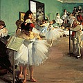 Dance Examination by Edgar Degas