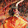 Dance Of Colors by Sethu Madhavan
