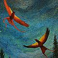 Dance Of The Firehawks by Charles Owens