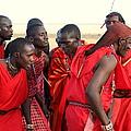 Dance Of The Maasai by Sue Long