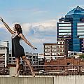 Dance The Durham Skyline by Jh Photos