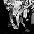 Dancer At Vietnam War Protest by Underwood Archives Adler
