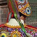 Dancer In Native Costume Peru by Bill Bachmann
