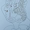 Dancer Instructor - Doodle by James Lavott