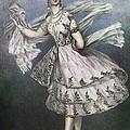Dancer Maria Taglioni In The Ballet Le by Everett