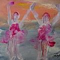 Dancers 135 by Edward Wolverton