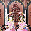 Dancers In Mughal Court by Rupa Prakash