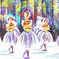 Dancers In The Forest II by Kip DeVore