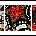 Dancing A Jig - Accordion - Pentaptych by Barbara Griffin