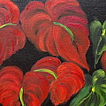 Dancing Anthuriums by Jenny Lee