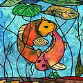 Dancing Fish by Sue Brehm