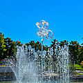 Dancing Fountain by Debra Martz