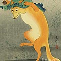 Dancing Fox by Pg Reproductions