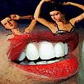 Dancing Lips by John Farr