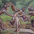 Dancing Maidens by Walter Lynn Mosley