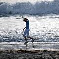 Dancing On The Beach by Pamela Schreckengost