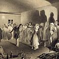 Dancing Party At Kagha-choura by Grigori Grigorevich Gagarin