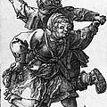 Dancing Peasants 1514 - Albrecht Durer by Daniel Hagerman