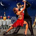 Dancing Under The Stars by Glenn Holbrook