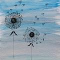 Dandelion Wind by Gail Nandlal