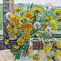 Dandelions Ordinary by Juliya Zhukova