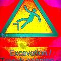 Danger Of Falling by Ed Weidman