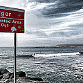 Danger Restricted Area Keep Out by Ron Regalado