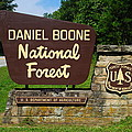 Daniel Boone by Frozen in Time Fine Art Photography