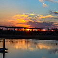 Daniel Island Sunset by Dale Powell