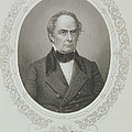 Daniel Webster, From The History Of The United States, Vol. II, By Charles Mackay, Engraved By T by Mathew Brady
