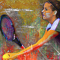 Danielle H Painted by David Haskett II